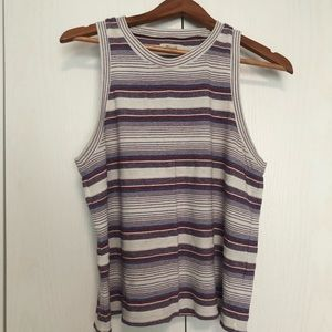 Madewell Stripped Tank